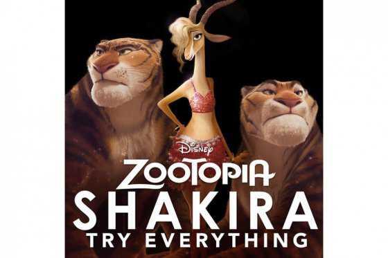 Shakira estrena canción para película de Disney