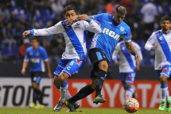 Racing obtiene empate ante Puebla en primera fase de Copa Libertadores