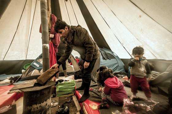 En un centro de refugiados de Berlín, el aburrimiento es el único horizonte