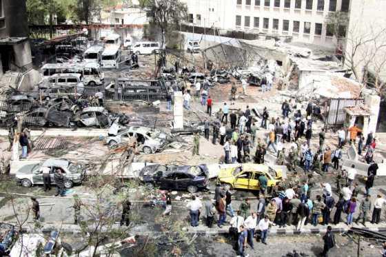 Siria, sumida en mortíferos atentados