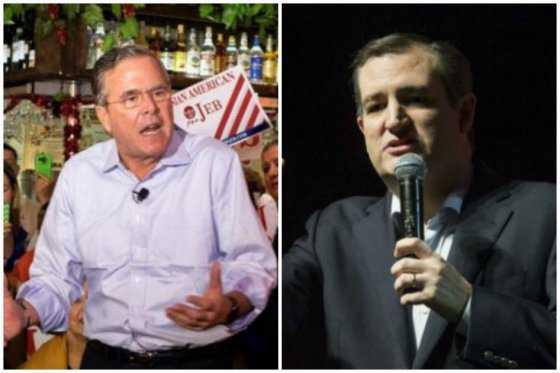 Jeb Bush da su apoyo a Ted Cruz como candidato a la Casa Blanca