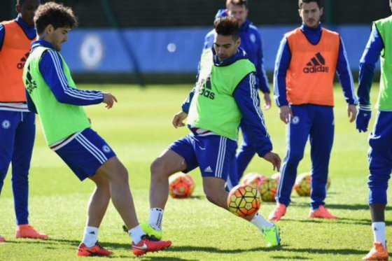 Falcao regresó a los entrenamientos con Chelsea