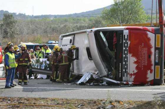 Víctimas de accidente de autobús en España hacían parte de intercambio universitario