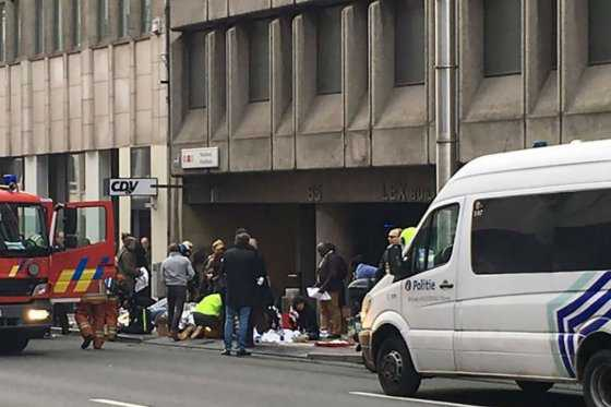Confirman al menos 26 muertos y 90 heridos tras los atentados de Bruselas