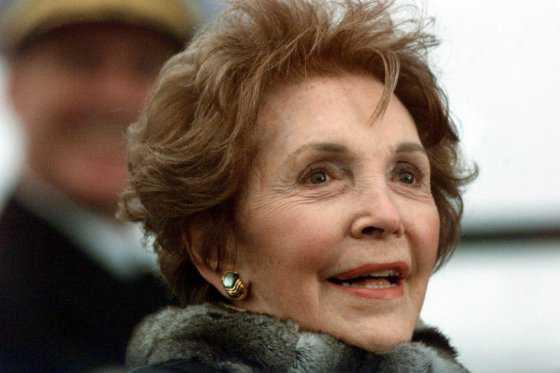Fallece Nancy Reagan, exprimera dama de Estados Unidos