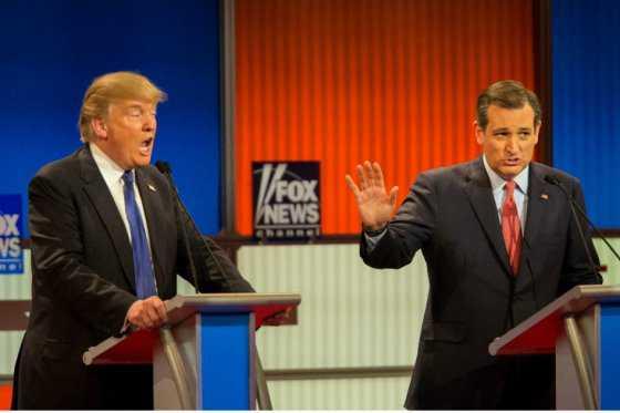 Aspirantes republicanos debaten en EE.UU., con el partido en grave crisis