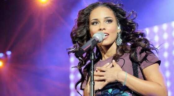 Alicia Keys cantará en la final de la Champions League