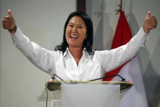 Sondeo ratifica ventaja de Keiko Fujimori con miras a Presidencia de Perú