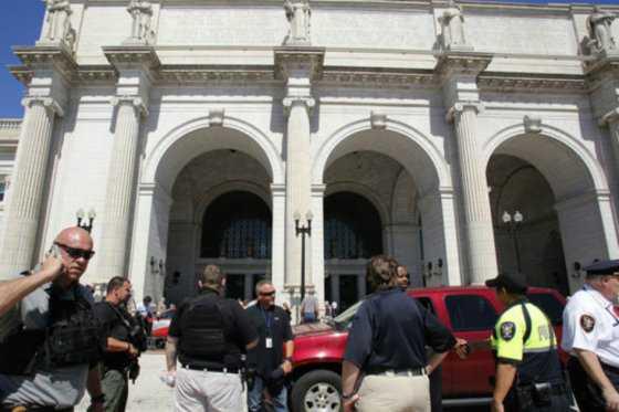 Evacúan estación principal de tren de Washington por amenaza de bomba