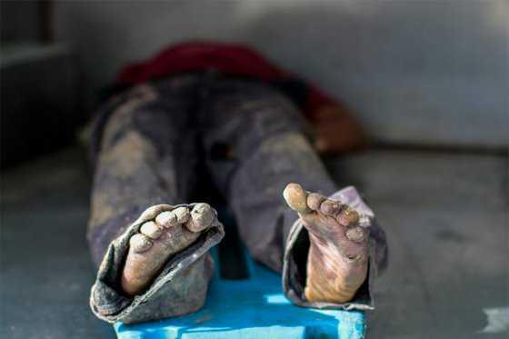Los cadáveres saturan las neveras de la morgue en Acapulco