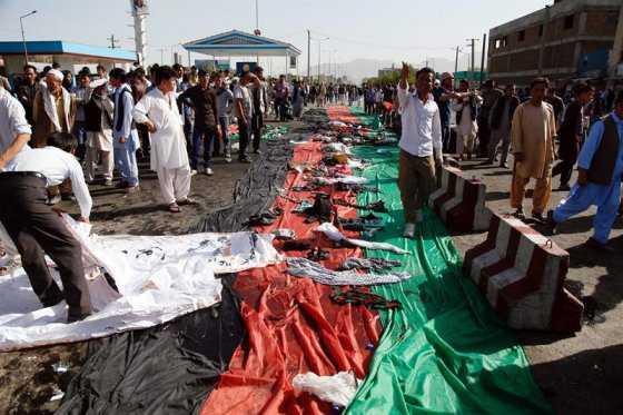 Atentado en Kabul: 80 muertos y más de 200 heridos