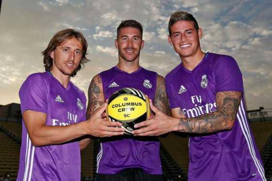 James Rodríguez ya se entrena con el Real Madrid