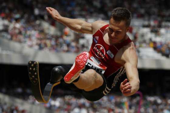 Markus Rehm, el atleta paralímpico que sueña con competir en los Olímpicos