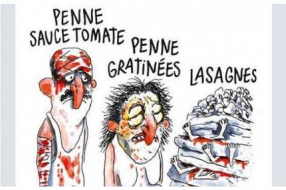 Sátira por terremoto en Italia ¿Se pasó Charlie Hebdo?