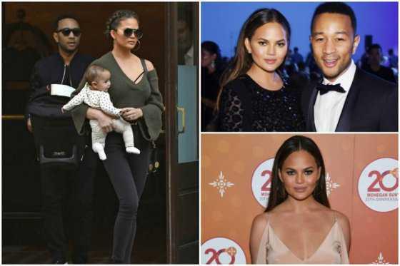 Esposa de John Legend califica de hipócritas a madres que la critican
