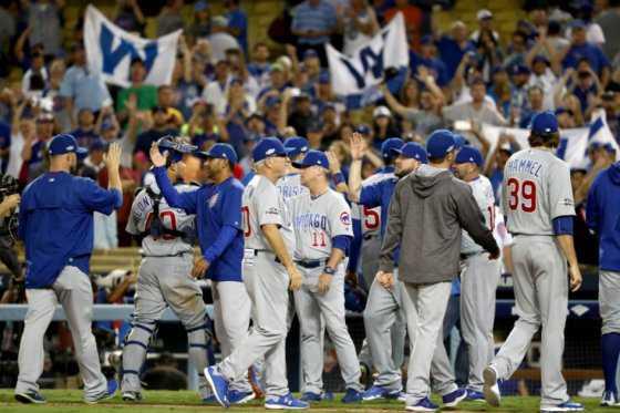 Los Cubs, a una victoria de regresar a una Serie Mundial después de 72 años