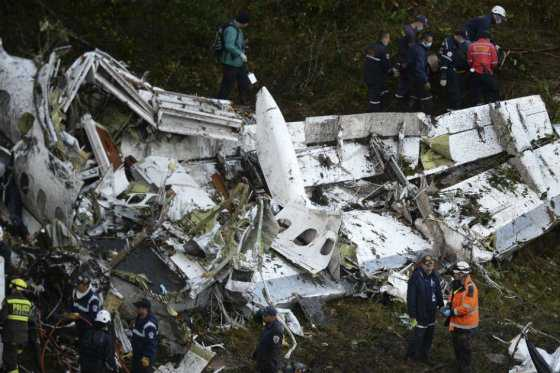 Autoridades británicas investigarán accidente del avión del Chapecoense