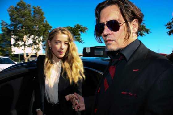 Johnny Depp y Amber Heard pelean por la plata del divorcio