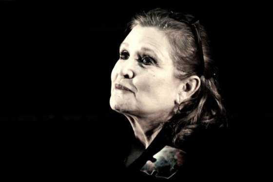 Murió la actriz Carrie Fisher, la recordada princesa Leia en Star Wars