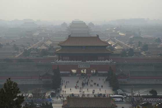 El cielo, de nuevo despejado en Pekín tras episodio de contaminación