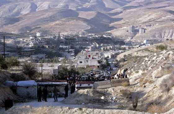 Intensos combates entre fuerzas gubernamentales y rebeldes cerca de la capital siria