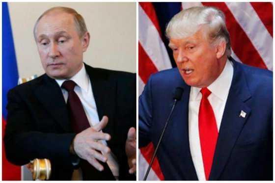 """Los nuevos aliados Putín y Trump acordaron relaciones """"de igual a igual"""""""