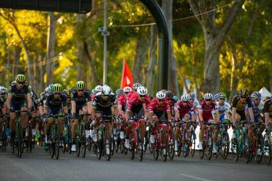 Jarlinson Pantano, mejor colombiano en la primera etapa del Tour Down Under