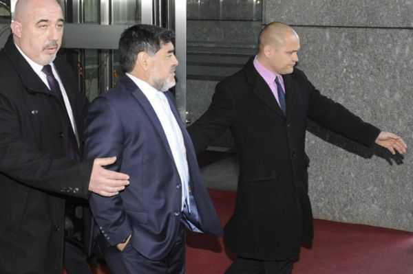 Maradona: «Nadie pudo explicar el motivo de este show mediático»