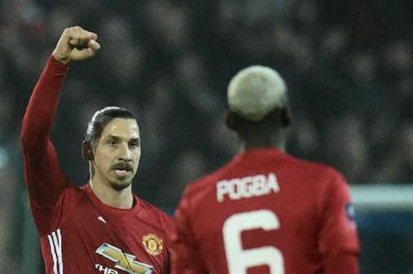 Ibrahimovic pone al Manchester United en cuartos de la FA Cup