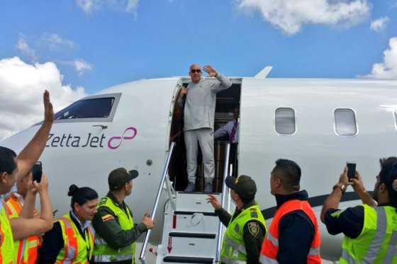 Vin Diesel llegó a Colombia, asistirá al matrimonio de Nicky Jam