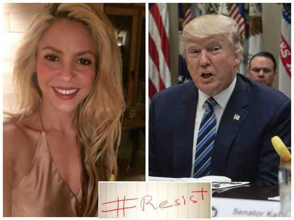 """""""Esto no es un ataque contra musulmanes sino contra los seres humanos"""": Shakira a Trump"""