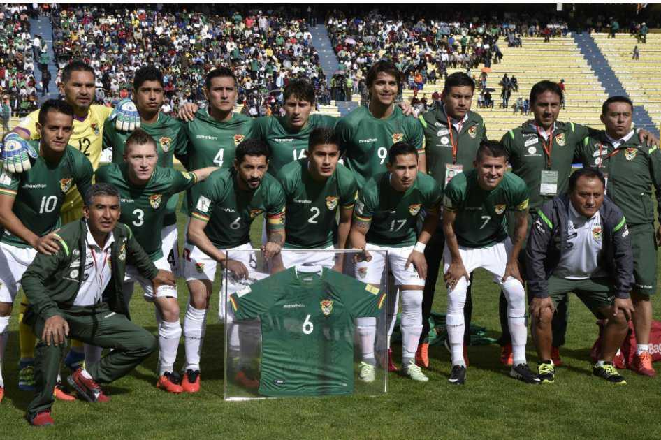 Selección de Bolivia definió nómina para enfrentar a Colombia y Argentina en las eliminatorias