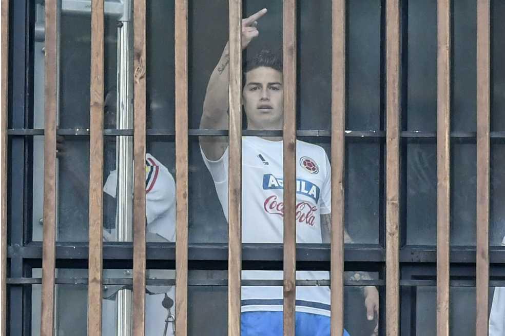 El gesto de James Rodríguez que le da la vuelta al mundo