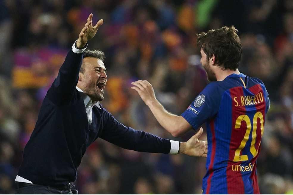 ¿Luis Enrique, el mejor entrenador de la historia del Barça?