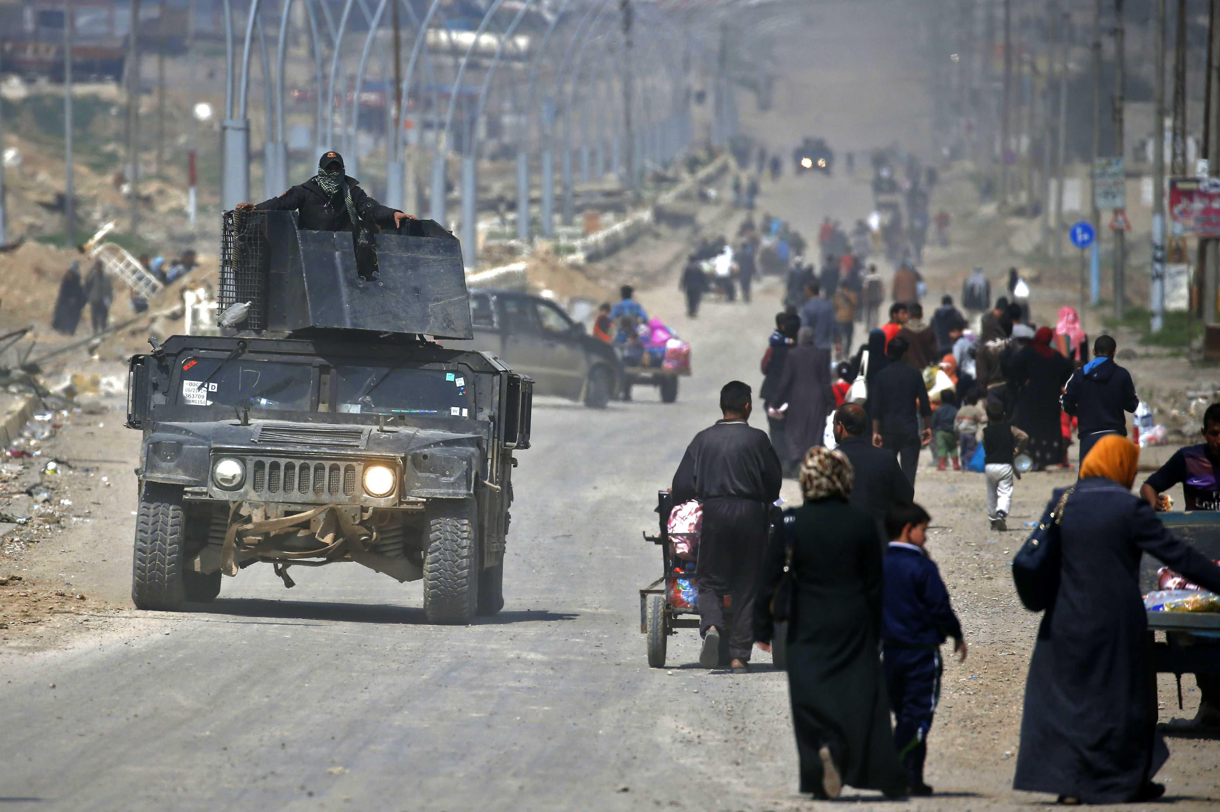 Quedan menos de 1.000 yihadistas en Mosul