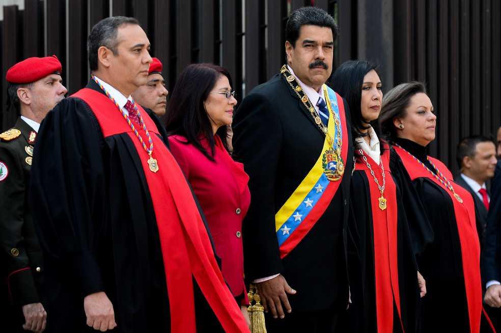 Maikel Moreno, un magistrado con un pasado ilegal