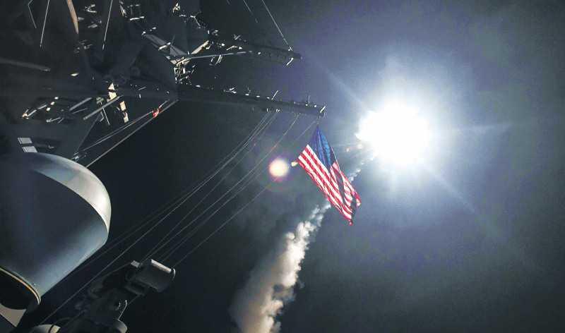 Tensión mundial por ataque de EE. UU. a Siria