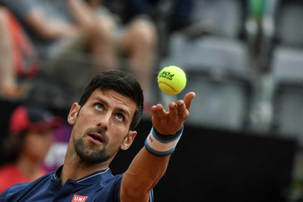 Novak Djokovic debuta con triunfo en Masters 1.000 de Roma