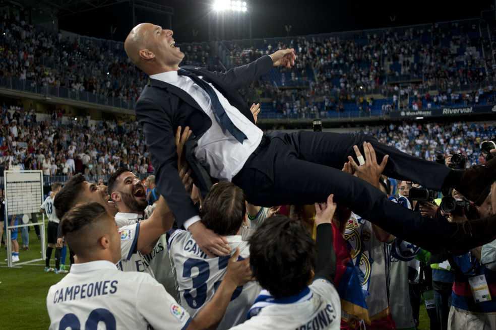 «Zidane es el mejor entrenador del mundo»: Florentino Pérez
