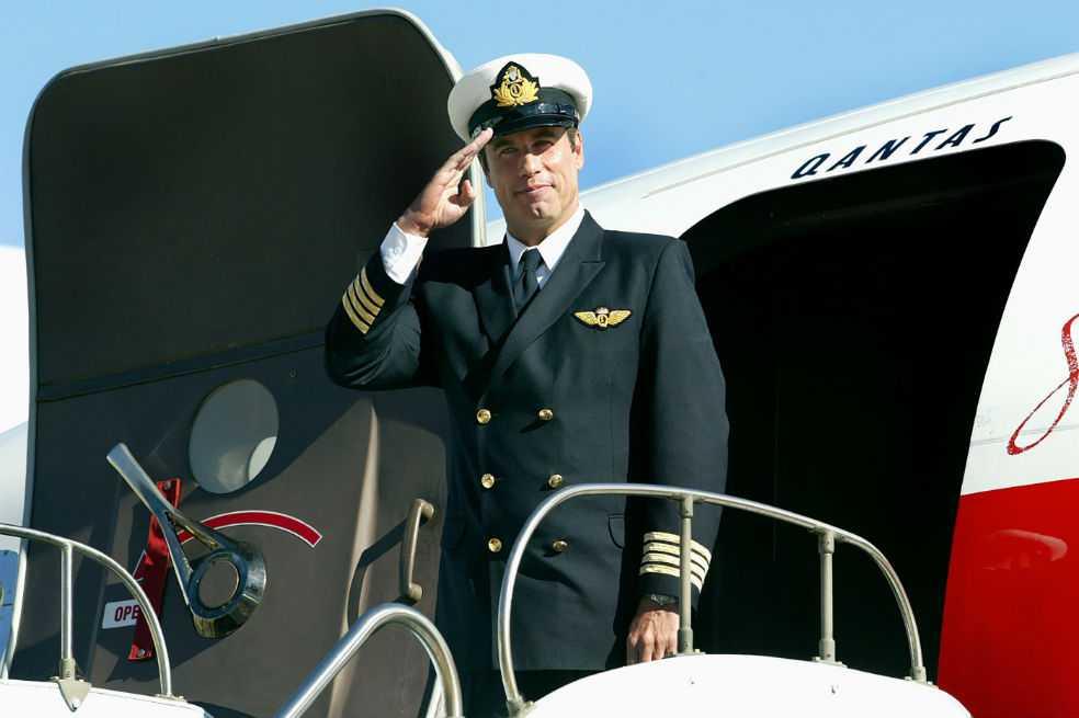 John Travolta dona su avión Qantas a un museo australiano
