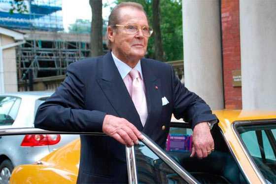 Falleció el actor británico Roger Moore, célebre por encarnar a James Bond