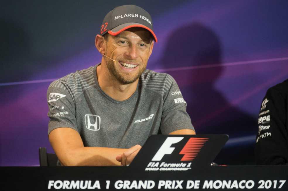 Jenson Button regresará a la Fórmula 1 solamente para correr el Gran Premio de Mónaco