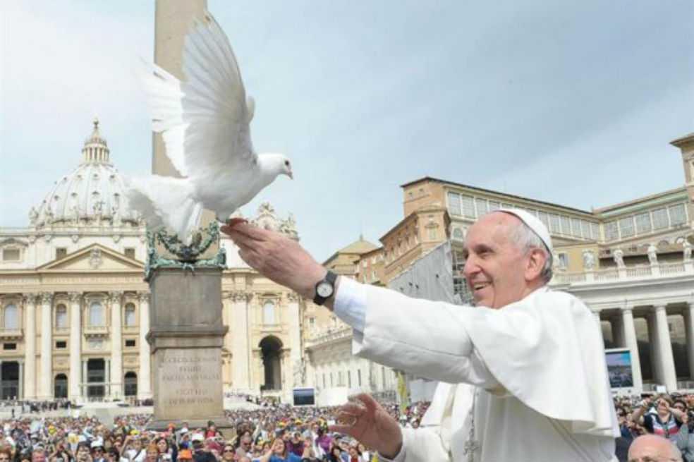 Papa propone para el jueves «un minuto de paz» por el mundo
