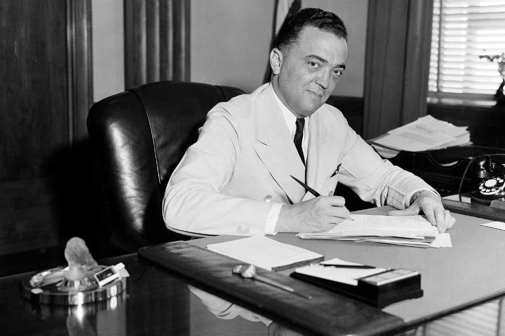 Edgar J. Hoover, el poder por la fuerza