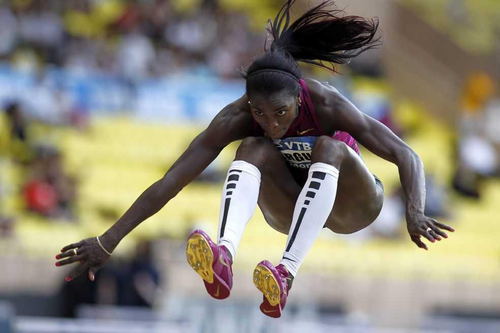 Le harán estudio biomecánico a Caterine en Mundial de Atletismo