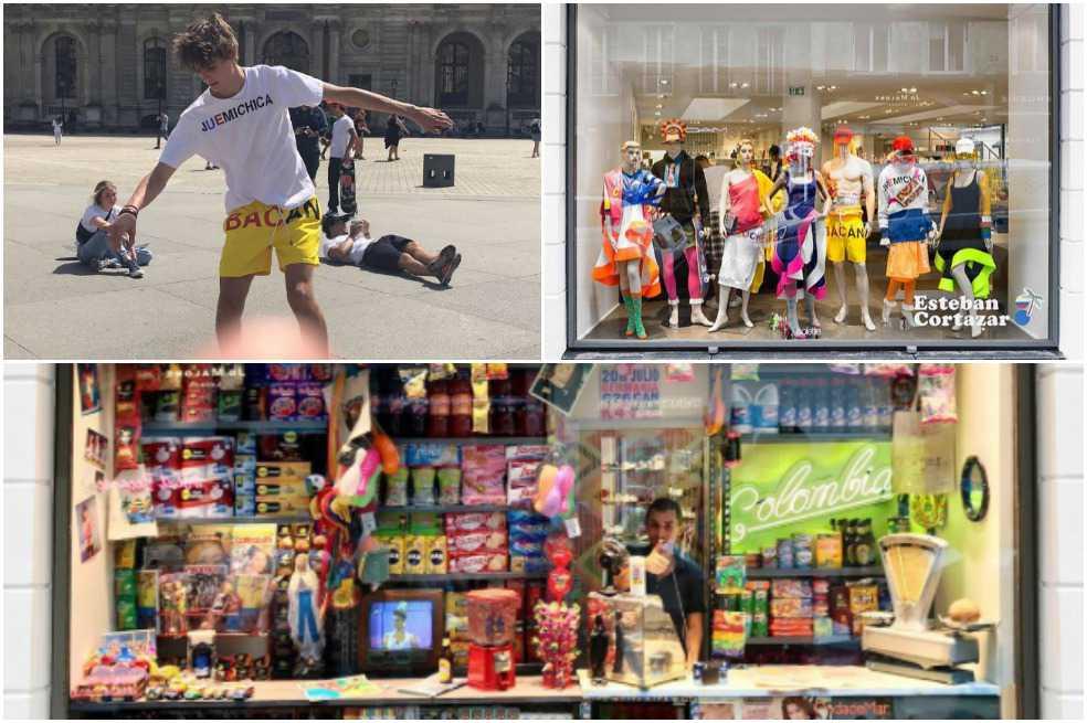 Esteban Cortázar lleva la identidad colombiana al templo parisino de la moda Colette