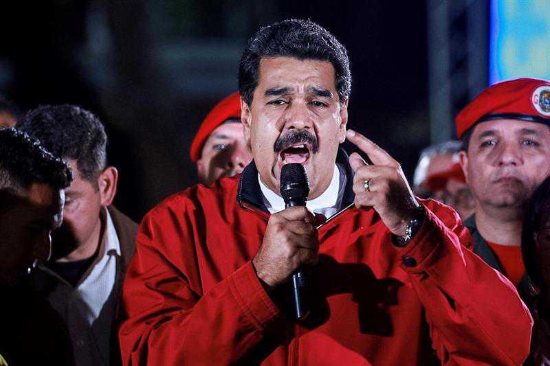EE.UU. congela bienes de Nicolás Maduro