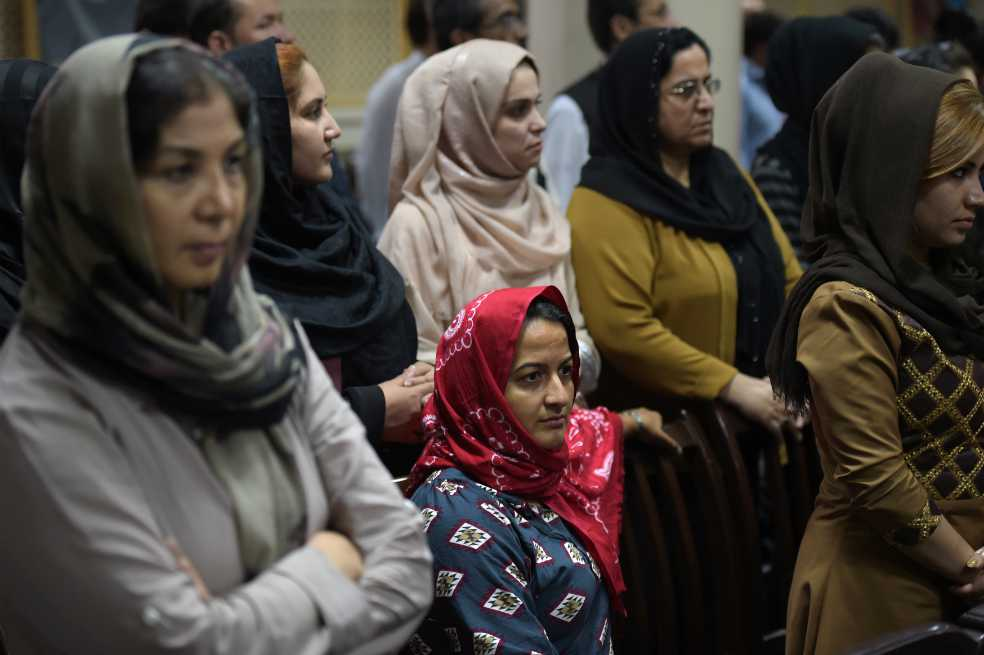 Afganistán: las mujeres luchan por ser llamadas por su nombre