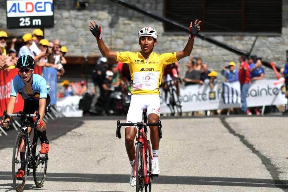 Egan Bernal se quedó con la etapa reina del Tour de L'Avenir