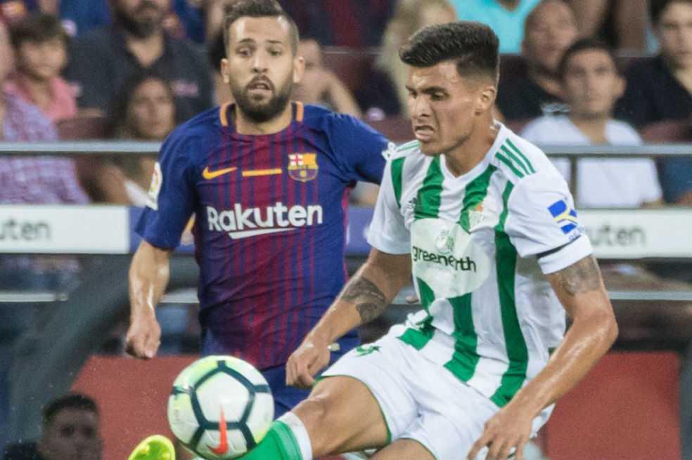 Juan José Narváez debutó en la primera división de España frente al Barcelona